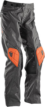 THOR MX 2016 Motocross/Offroad/Dual Sport Men's RANGE Pants (Charcoal/Orange)
