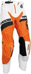 MOOSE Racing MX Motocross Men's 2017 SAHARA Pants (Orange/White)
