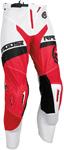 MOOSE Racing MX Motocross Men's 2017 SAHARA Pants (Red/White)