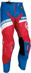 MOOSE Racing MX Motocross Men's 2017 SAHARA Pants (Blue/Red/White)