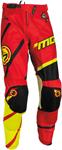 MOOSE Racing MX Motocross Men's 2017 M1 Pants (Red/Hi-Viz Yellow)