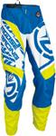 MOOSE Racing MX Motocross Men's 2017 QUALIFIER Pants (Blue/Hi-Viz Yellow)