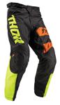 Thor MX Motocross Youth Pulse Pants (BIG KAT Black/Lime)