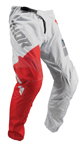 Thor MX Motocross Youth Sector Pants (SHEAR Light Gray/Red)