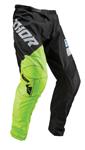Thor MX Motocross Youth Sector Pants (SHEAR Black/Acid)