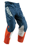 Thor MX Motocross Youth Pulse Air Pants (ACID Red Orange/Slate)