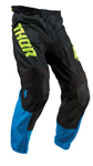 Thor MX Motocross Youth Pulse Air Pants (ACID Electric Blue/Black)