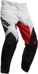 Thor MX Motocross Men's Pulse Air FACTOR Pants (White/Black/Red)