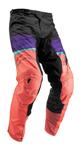 Thor MX Motocross Women's Pulse Pants (DEPTHS Black/Coral)