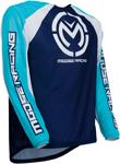 Moose Racing MX Off-Road M1 Jersey (Blue/Cyan)