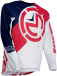 Moose Racing MX Off-Road Qualifier Jersey (Red/White/Blue)