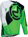 Moose Racing MX Off-Road Qualifier Jersey (Green/White)