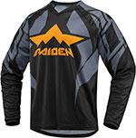 ICON RAIDEN ARAKIS Adventure Dual Sport Jersey (Slate)