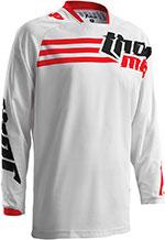 THOR MX Motocross 2016 Men's PHASE Jersey (STRANDS White/Red)