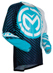 Moose Racing MX Off-Road 2018 QUALIFIER Jersey (Blue/White)