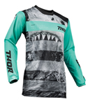 Thor MX Motocross Men's Pulse Jersey (JAWS Mint/Black)
