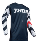 Thor MX Motocross Men's Pulse Jersey (STUNNER Midnight/White)