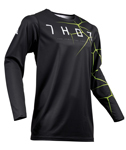 Thor MX Motocross Men's Prime Pro Jersey (INFECTION Black/Acid)