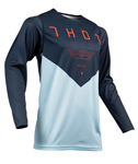 Thor MX Motocross Men's Prime Pro Jersey (JET Midnight/Sky)