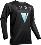 Thor MX Motocross Men's Prime Pro APOLLO Jersey (Black/Mint)