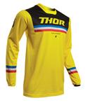 Thor MX Motocross Men's Pulse Pinner Jersey (Yellow/Black)