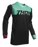 Thor MX Motocross Men's Pulse Air Factor Jersey (Black/Mint)