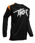 Thor MX Motocross Youth Sector Link Jersey (Orange/Black)