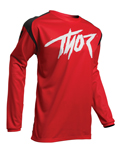 Thor MX Motocross Youth Sector Link Jersey (Red/Black)