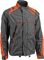THOR MX 2016 Motocross/Offroad/Dual Sport Men's RANGE Jacket (Charcoal/Orange)