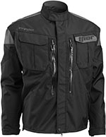 THOR MX 2016 Motocross/Offroad/Dual Sport Men's PHASE Jacket (Black/Charcoal)