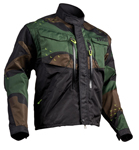 Thor MX Motocross Men's Terrain Jacket (Green Camo)
