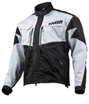 Thor MX Motocross Men's Terrain Jacket (Light Gray/Black)