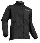 Thor MX Motocross Men's Pack Jacket (Black/Charcoal)
