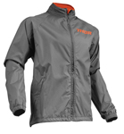 Thor MX Motocross Men's Pack Jacket (Charcoal/Orange)