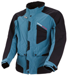 Moose Racing MX Off-Road XCR Adventure Touring Jacket (Black/Blue)