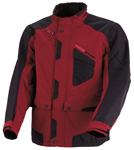 Moose Racing MX Off-Road XCR Adventure Touring Jacket (Black/Maroon Red)