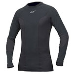Alpinestars Tech Race Long Sleeve Compression Under-Suit Shirt (Black)