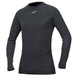 ALPINESTARS Tech Race Long Sleeve Compression Under-Suit Shirt (Black)