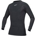 ALPINESTARS Tech Base Long Sleeve Motorcycle Under-Suit Shirt (Black)