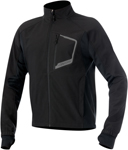 Alpinestars TECH Windproof Layering Top/Jacket w/Thermal Fleece Lining (Black)