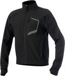 ALPINESTARS TECH Windproof Layering Top/Jacket w/Thermal Fleece Lining (Black)