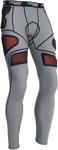 MOOSE Racing MX Motocross Men's XC1 Base Armor Underpants (Gray)