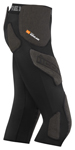ICON MotoSports Field Armor Compression Pants w/ Kevlar & D30 D3O Protection (Black)