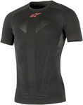 Alpinestars Tech Summer Short Sleeve Under Layer Shirt (Black)