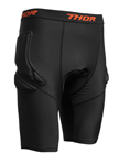 Thor MX Motocross Comp XP Padded Compression Shorts (Black)