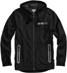 100% MX Motocross Men's STORBI Lightweight Jacket (Black)