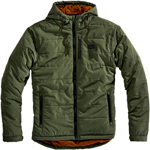 100% MX Motocross Men's JUKKA Hooded Zip Jacket (Military Green)