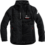 100% MX Motocross Men's GEICO/Honda ALPHA Hooded Jacket (Black)