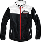 100% MX Motocross Men's GEICO/Honda AVIATOR Hooded Jacket (Black/White)
