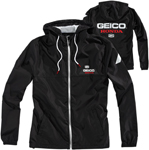 100% MX Motocross Men's GEICO/Honda CAPSTONE Hooded Jacket (Black)